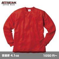 ファイバードライ長袖Tシャツ [POL-205] BEES BEAM-ビーズビーム