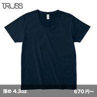 スリムフィットUネックTシャツ [SFU-114] TRUSS-トラス