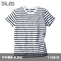 ナローボーダーTシャツ [SNB-141] TRUSS-トラス