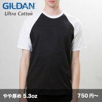 5.3oz ジャパンフィット ラグランTシャツ [76500] gildan-ギルダン