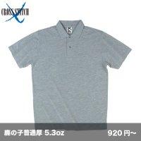 5.3ozポロシャツ [CR2102] CROSS-クロススティッチ