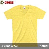 トライブレンドVネックTシャツ [CR1106] CROSS-クロス