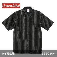 T/C ストライプワークシャツ [1781] unitedathle-ユナイテッドアスレ