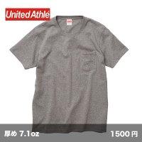 オーセンティック スーパーヘビー ポケットTシャツ [4253] unitedathle-ユナイテッドアスレ