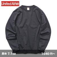 オーセンティック スーパーヘビー長袖Tシャツ(袖リブ有) [4262] unitedathle-ユナイテッドアスレ