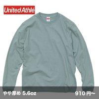 5.6oz 長袖Tシャツ(袖リブ有) [5011] unitedathle-ユナイテッドアスレ