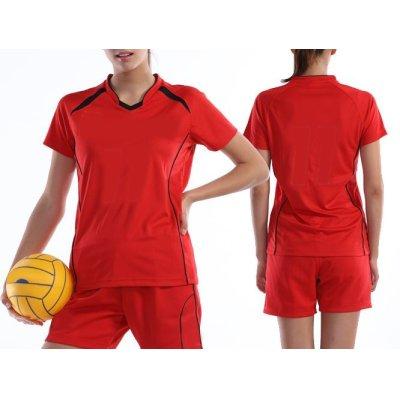 画像3: ウイメンズバレーボールシャツ [P1620]  wundou-ウンドウ