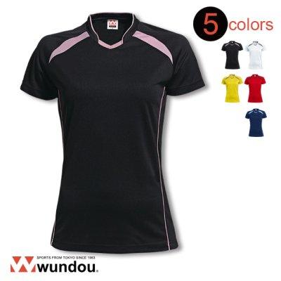 画像2: ウイメンズバレーボールシャツ [P1620]  wundou-ウンドウ