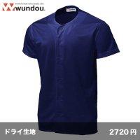 ベースボールシャツ [P2700]  wundou-ウンドウ