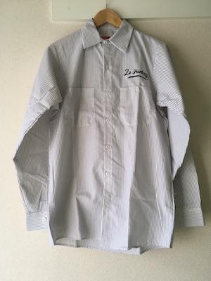 ワークシャツ左胸刺繍-完成画像1